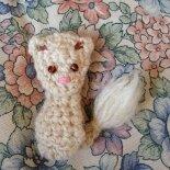 white squirrel by ackta