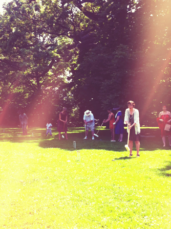 sunshine croquet