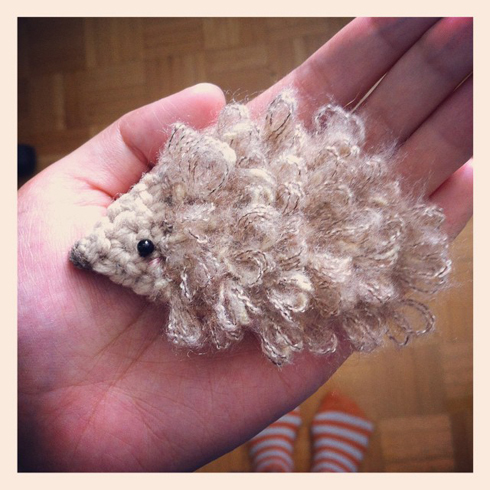 hedgehog fuzzy