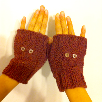 owl gloves